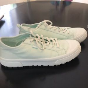 UGG mint green shoes 7.5 worn once
